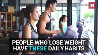 Daily habits of successful dieters | Rare Life - Video
