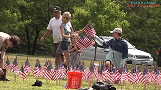 This Community Comes Together In A Beautiful Way To Honor Fallen Soldiers - Video