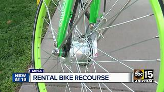 Bike-sharing companies popping up throughout Mesa - Video