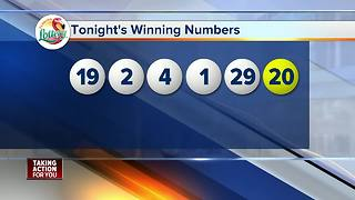 Numbers drawn for Tuesday's massive Mega Millions drawing - Video