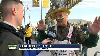 Fence painting tradition comes to an end - Video