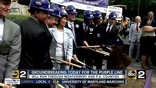 Chao and Hogan sign Purple Line agreement - Video