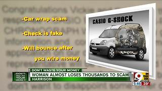 Beware car wrap scam - Video
