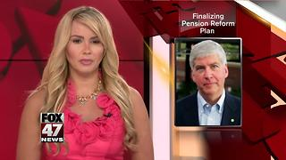 Michigan teacher pension reform forging ahead - Video