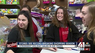 Small businesses thriving during holiday season