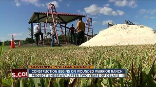 Construction begins on Wounded Warrior Ranch