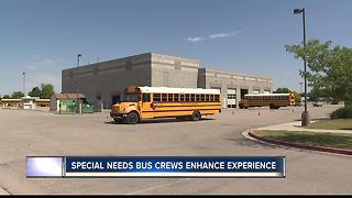 Special needs bus crew receives kudos - Video