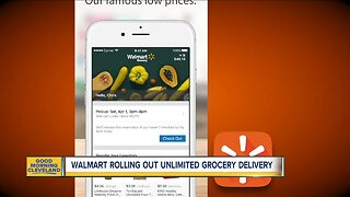 Delivery service rolling out for Walmart