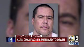 Jury determines punished for convicted murderer Alan Champagne - Video
