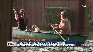 Island Park residents call for flooding solution - Video