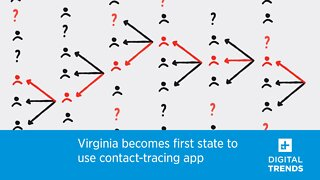 Virginia becomes first state to use contact-tracing app