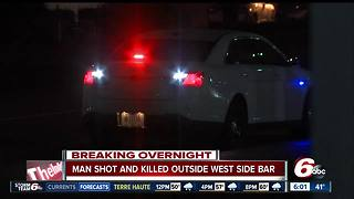 Man shot, killed in parking lot on Indianapolis' west side - Video