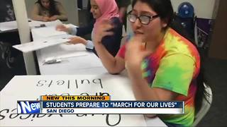 "Students prepare to ""March for Our Lives"""
