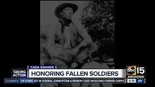 Honoring fallen soldiers in Casa Grande - Video