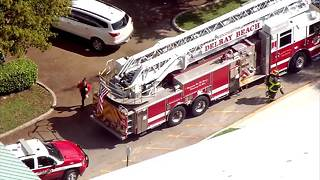 Gas leak at Delray Beach restaurant - Video