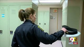 Inside embattled District 5 police headquarters - Video