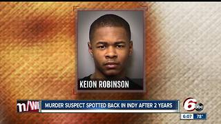 Police renew search for 2016 murder suspect after he was spotted in Indy