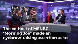 Joe Scarborough Says Trump Only Ran For President For The Money - Video
