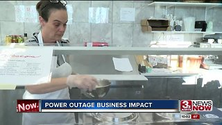 Omaha stores back in business after snowstorm