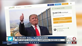 GoFundMe campaign trying to raise $1B for President Trump's border wall