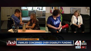 Parents struggle to obtain funding to keep developmentally disabled children home