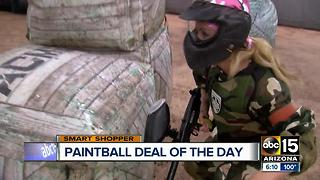 Play indoor paintball for free in the East Valley - Video