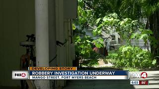 Morning robbery leaves Fort Myers Beach man injured - Video