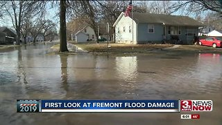 First look at Fremont flooding