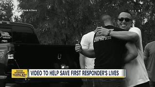 Local non-profit releases video in hopes of helping to save first responders' lives - Video