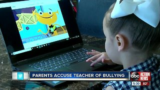 Parents accuse teacher of bullying