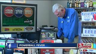 Omaha gets Powerball fever as jackpot estimate hits $700 million - Video