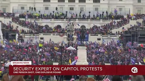 Security expert on capitol protests