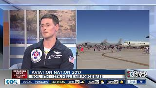 Maj. Ryan Bodenheimer talks about Aviation Nation - Video