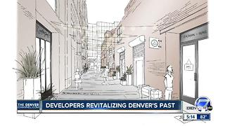 Downtown Denver street gets new life in LoDo - Video