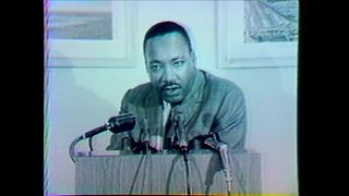 Martin Luther King Jr. discusses segregation in Milwaukee - Video