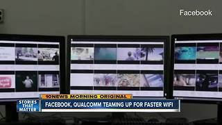 Facebook, Qualcomm working on high-speed internet for urban areas - Video