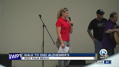 'Walk to End Alzheimer's' held Saturday in West Palm Beach