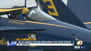 Blue Angels start winter training in SoCal - Video