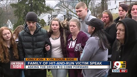Family pleads for answers after hit-and-run
