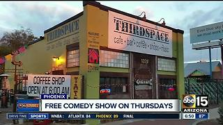 ThirdSpace offering free comedy show! - Video