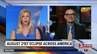 NASA Scientist joins 3 News Now to talk Total Eclipse - Video