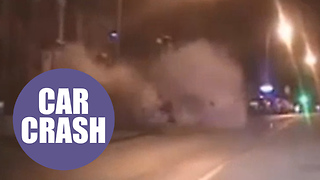Horror smash caught on video - and driver walks free from court