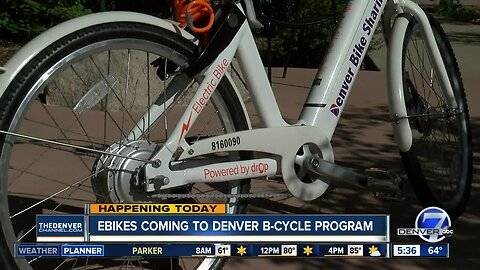Ebikes coming to Denver B-cycle program