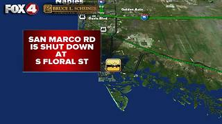 Fatality reported in Marco Island crash Thursday morning - Video