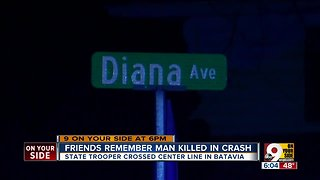 Man killed in crash with trooper memorialized
