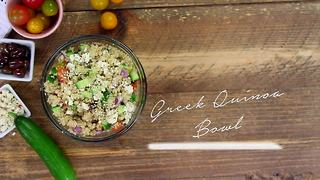 Simply Sweet Allison Greek Quinoa Salad - Video