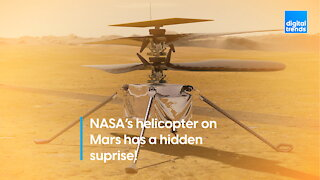 NASA's Helicopter on Mars has a Hidden Surprise