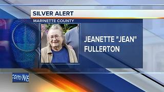 Elderly woman still missing in Marinette County