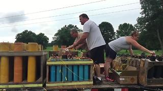 Oak Grove residents come together for 4th of July after devastating tornado - Video