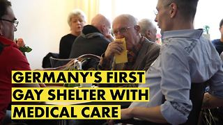 Acceptance for any age: Berlin's gay care home - Video